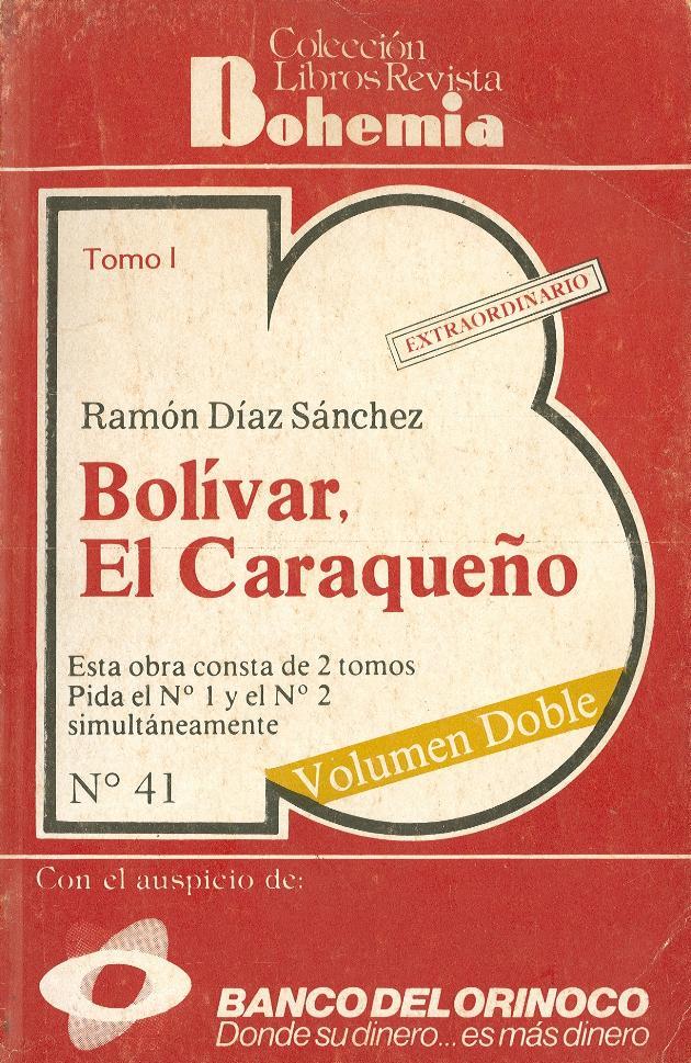 Bolívar el caraqueño. Tomo 1. - Page 1