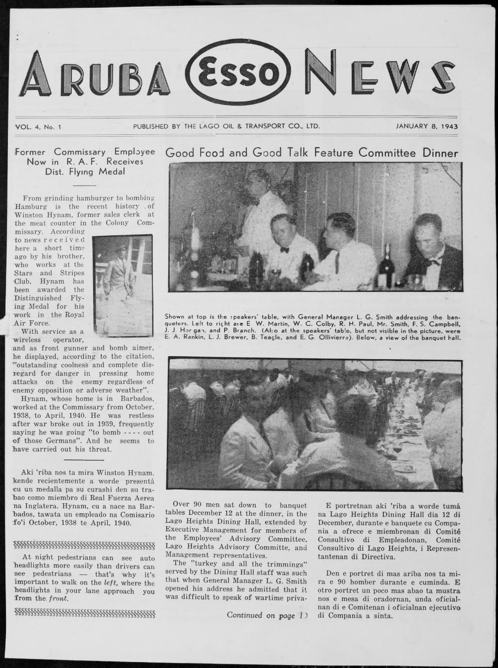 Aruba Esso News - Page 1