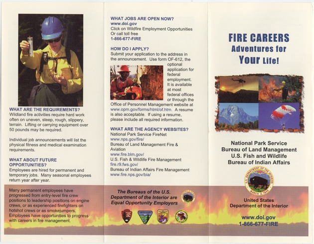 Fire Careers, Adventures For Your Life! - Page 1