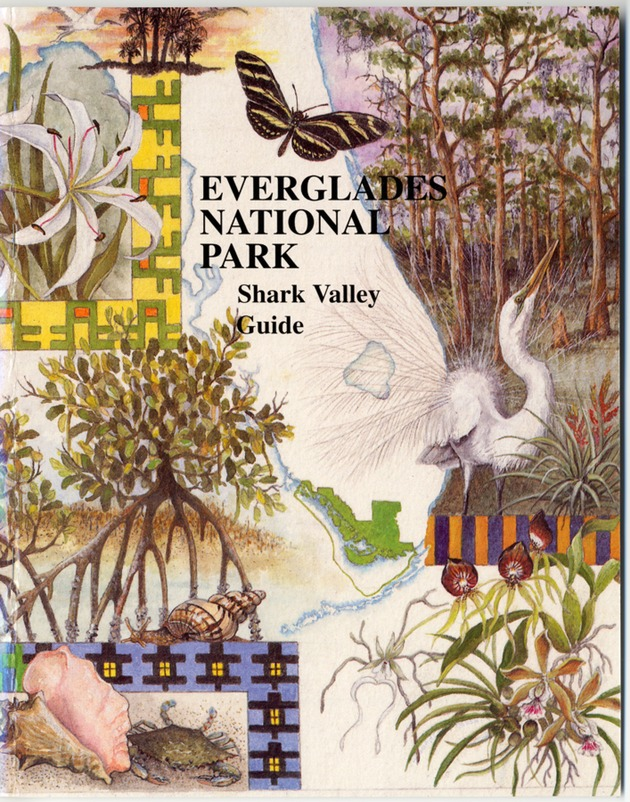 Everglades National Park: Shark Valley Guide - Front Cover 1