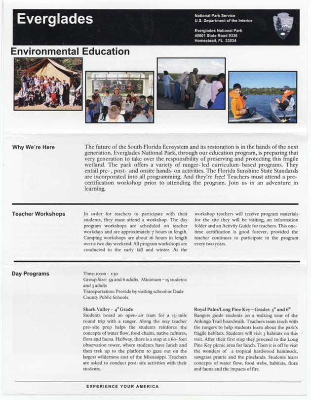 Everglades: Environmental Education - Page 1