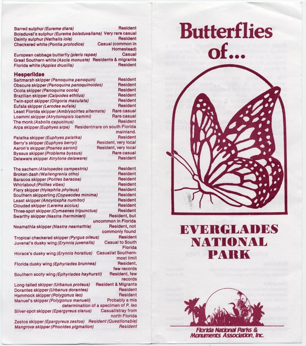 Butterflies of Everglades National Park - Page 1