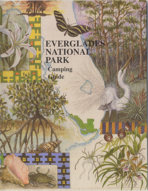 Everglades National Park: Camping Guide - Front cover 1