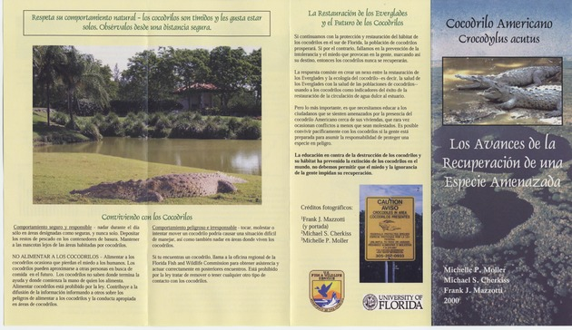 Cocodrilo Americao Crocodylus Acutus: Los Avances de la Recuperacion de una Especie Amenazada - Page 1