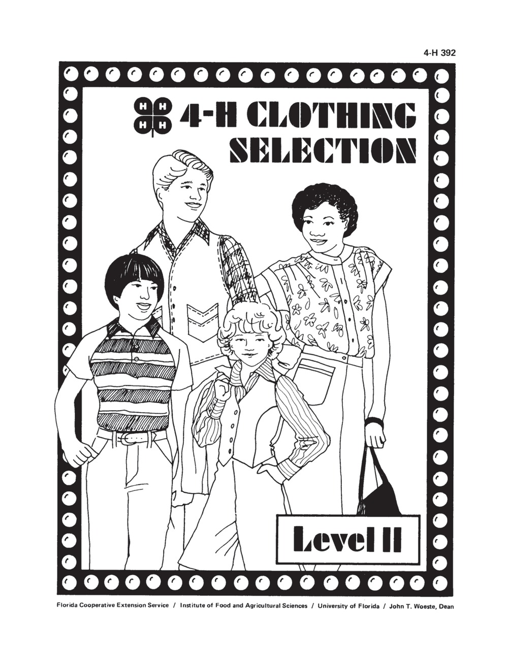 4-H Clothing selection level II - Page 1