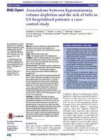 Associations between hyponatraemia, volume depletion and the risk of falls in US hospitalised patients: a case– control study