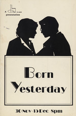 """Program from Theater Guild of Ancon's presentation of """"Born Yesterday"""""""