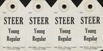 Steer Identification Tag, Young Regular, PCC (4)