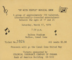 "Ticket to ""Up with People"" Musical"