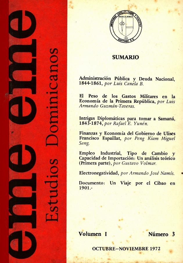eme eme : Estudios Dominicanos - Cover