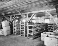 The Steaming room at the Sanchez Haya Cigar Factory.