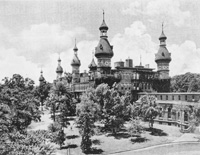 An Early view of the Tampa Bay Hotel.