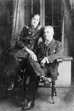 A Portaitof Miss Noemi W. and J.R. Sanfeliz.