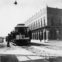 The Cherokee Club, 1896, at the corner of 9th Avenue and 4th Street.