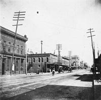 La Calle de Franklin, 1898.