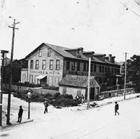 Sanchez and Haya Cigar Factory in 1898.