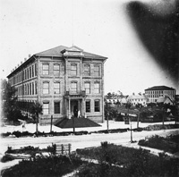 Seindemberg & Co. Factory during the scale stirke of 1899.