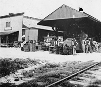 "The Ybor City Plant System Station during the ""Scale Strike""."