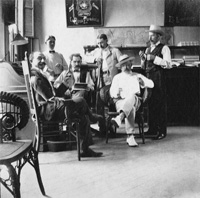El Principe de Gales, Havana-American Cigar Co.; the staff assembled in the offices.