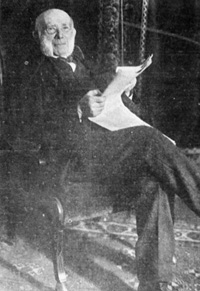 A Portrait of Samuel Seidenberg, owner of the Seidenberg Cigar Company.