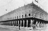 A View of the Cherokee Club at the northwest corner of 9th Avenue and 14th Street later known as El Pasaje Restaurant.