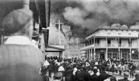 A View of the Ybor City Fire of 1908.