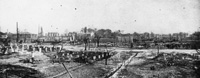 The Aftermath of the Ybor City Fire of 1908.