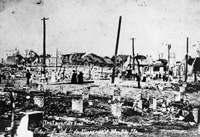 The Aftermath of the Ybor City Fire 1908.
