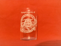 A Beer mug with the log of the Florida Brewing Commpany.