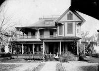 Captain John Lisley's house in Fort Brooke.