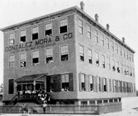 The Gonzalez Mora & Company cigar manufacturers came in 1894.