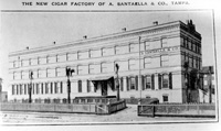 The New cigar factory of Santaella & Co., Tampa.