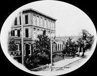 The Ybor Manrara first cigar factory in Tampa.