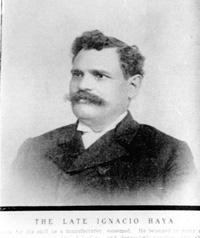 A Potrait of Ignacio Haya.