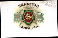 Harritos: Tampa, Fla.; a cigar of Samuel Davis and Company.
