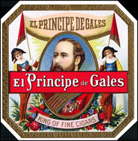 The El Principe de Gales brand, carried to Tampa from Havana for the Ybor cigar Factory.