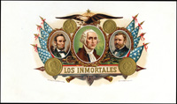 Los inmortals a cigran brand from Grommes and Ullrich Cigar Company.