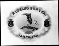 A F. Lozano, Son, and Company ; Tampa, Fla. cigar label.