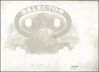 The Progessive proof book for Selector, a cigar label produced for the J. M. Martinez Cigar Company.