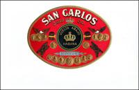 A Cigar label for the San Carlos Cigar Company.