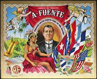 The Cigar label Fabrica de Tabacos A. Fuente.