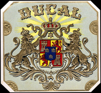The Bucal cigar label of Cuesta Rey and Comapany.