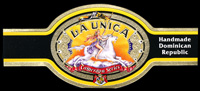 Launica, a cigar label, part of the Cameroon Series made in the Dominican Republic.