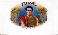 The Tuval cigar label of Marcelino Perez Cigar Company.