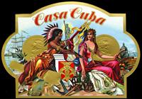 The Casa Cuba cigar label of Z. Garcia and Company.