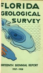 Biennial report (Florida Geological Survey)