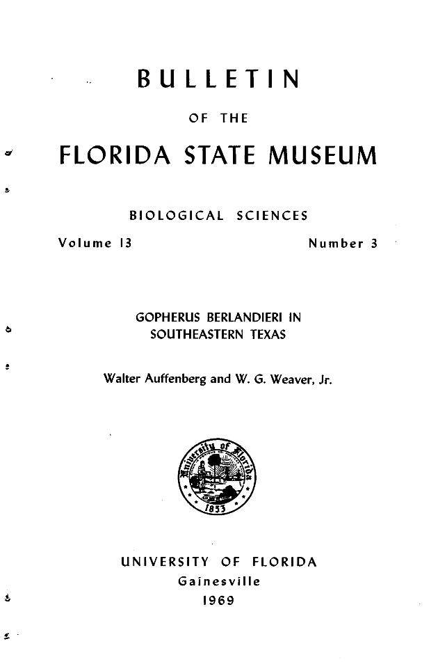 Gopherus berlandieri in southeastern Texas - Page 139