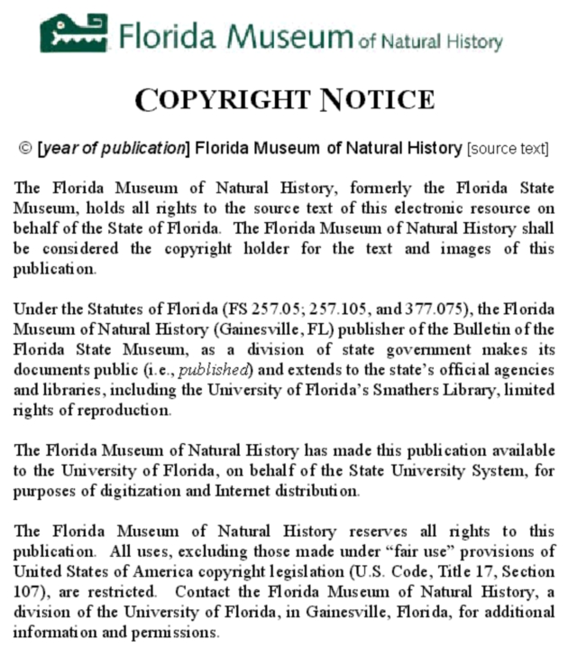 The Pleistocene Felidae of Florida - Page 212