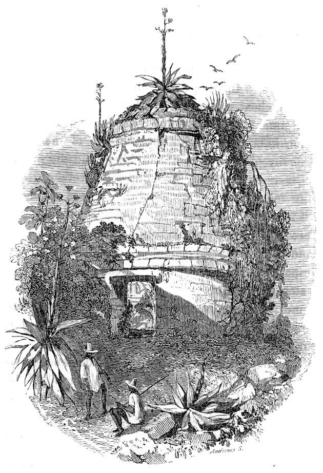 Circular building, Mayapan