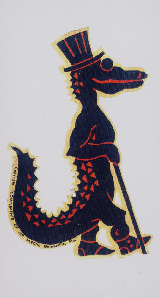 Alligator decal - Photograph #1